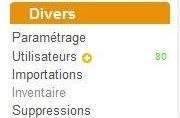 """Aperçu de la rubrique """"Divers"""""""