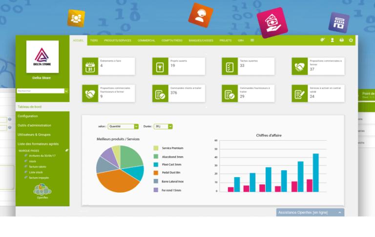 Cover TOP5 meilleur logiciel gestion de stock OPenflex